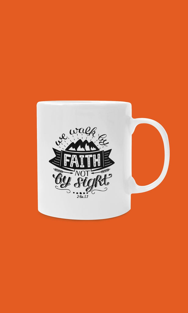 Trini-T - Walk By Faith Mug 11oz Mug Printify