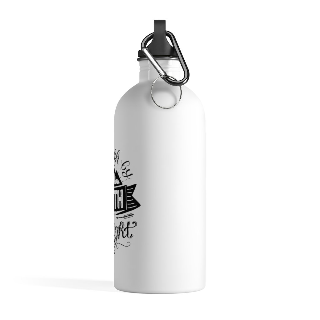 Trini-T - Walk By Faith - Stainless Steel Water Bottle Mug Printify