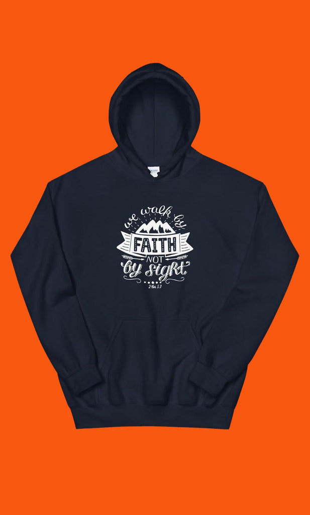 Trini-T - Walk By Faith - Unisex Hoodie Hoodie Trini-T Ministries