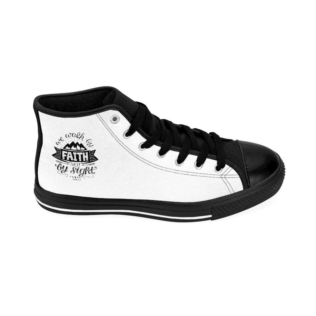 Trini-T - Walk By Faith - Women's Hi Tops Shoes Printify