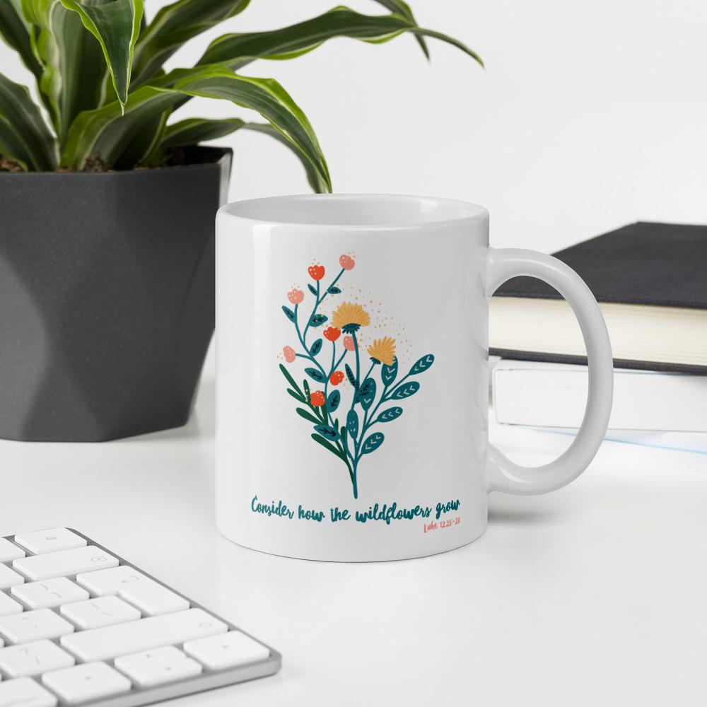 Trini-T - Wildflowers - Mug Mugs Trini-T Ministries