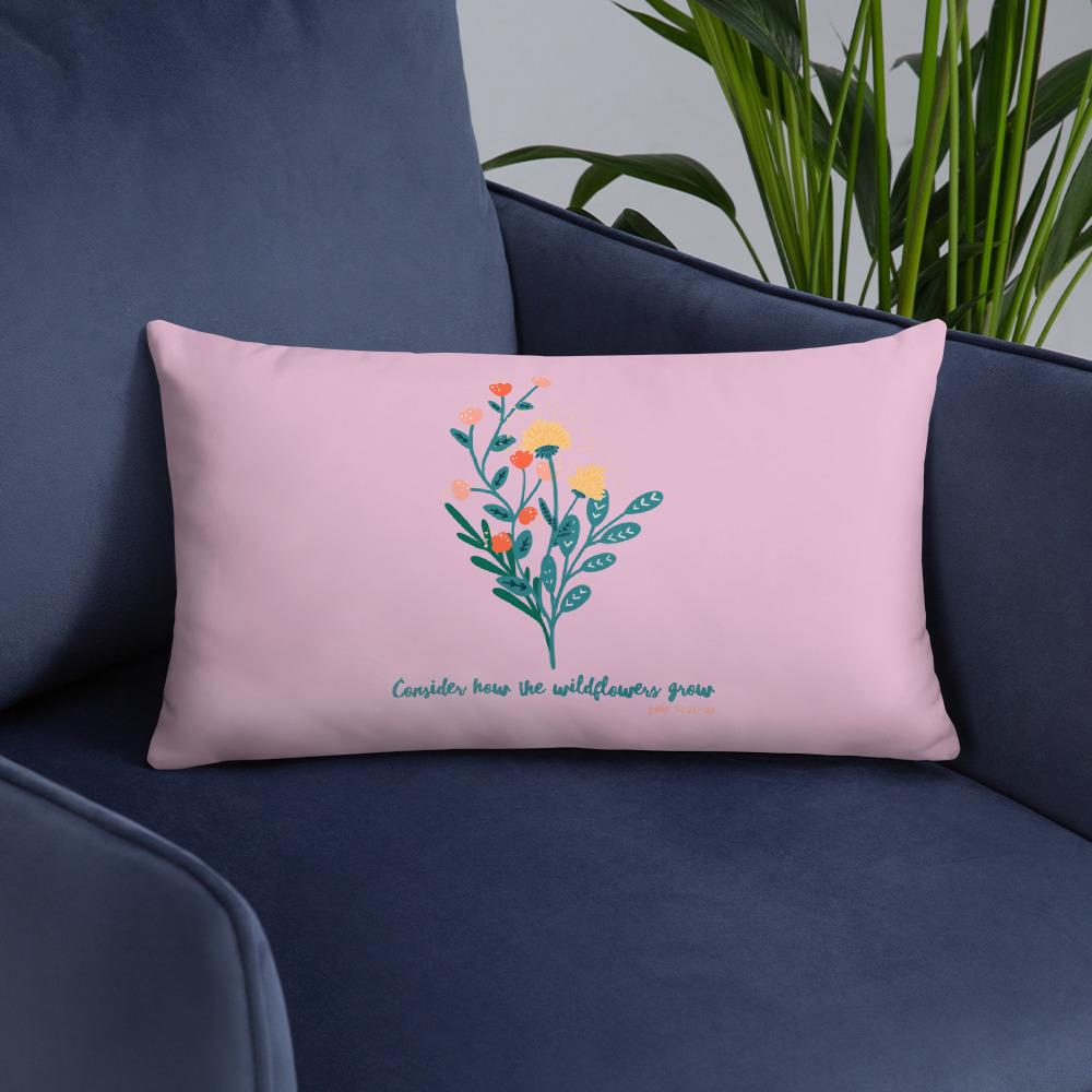 Trini-T Wildflowers - Pink - Pillows Trini-T Ministries