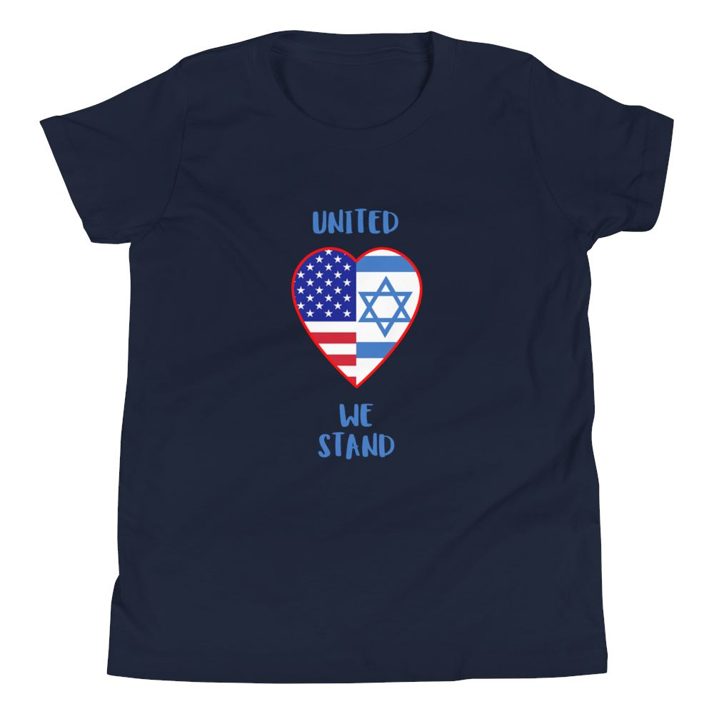 United We Stand - Israel + USA - Youth US Trini-T Ministry Navy S