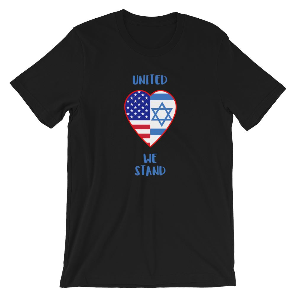 United We Stand Israel+USA - Women's T Trini-T Ministry Black XS