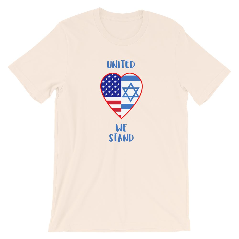 United We Stand Israel+USA - Women's T Trini-T Ministry Soft Cream S