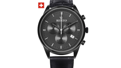 ROGUE ALL BLACK - Renzo Watches