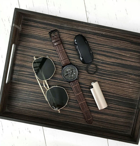 Rogue Black Brown - Renzo Watches