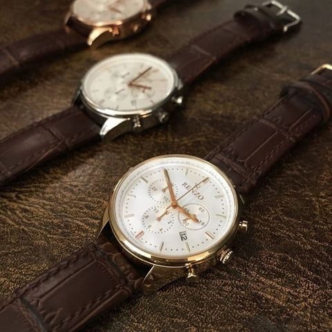 Royal Brown White - Renzo Watches