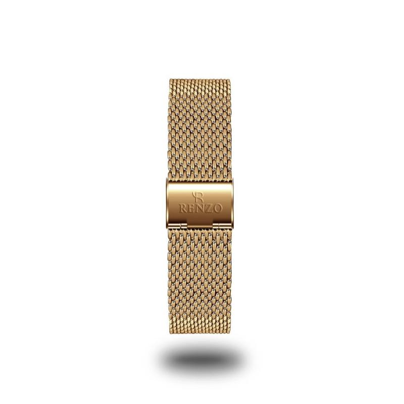Strap - Gold Mesh Stainless Steel Strap