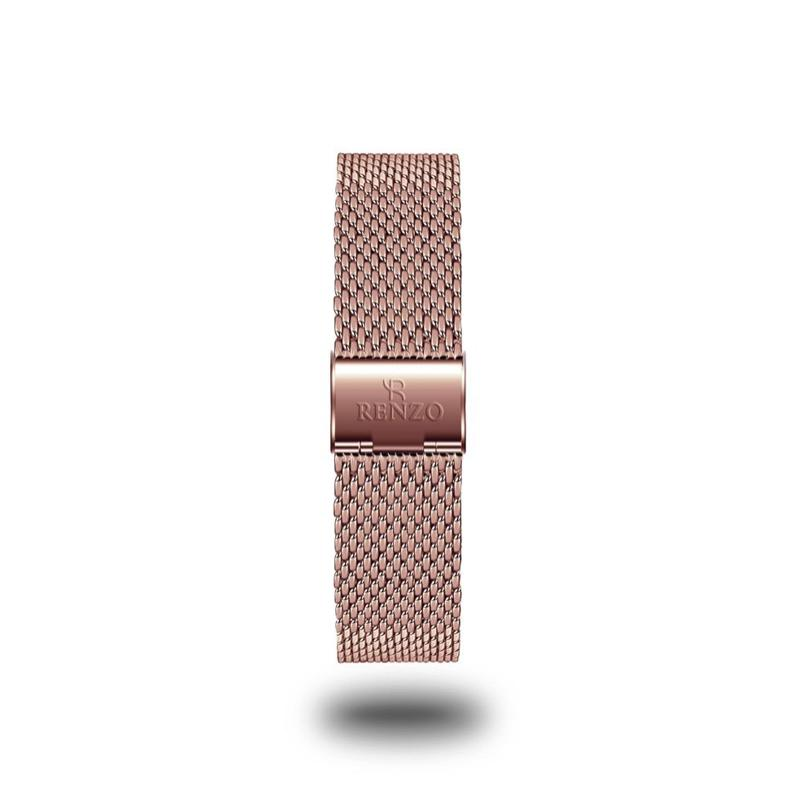 Strap - Rose Gold Mesh Stainless Steel Strap