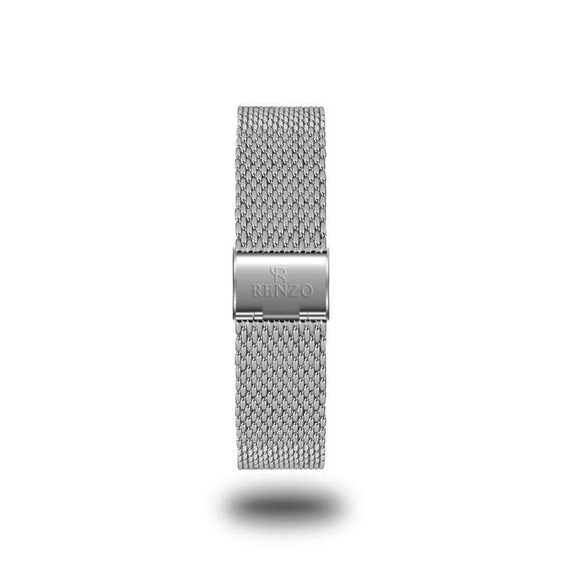 Strap - Silver Mesh Stainless Steel Strap