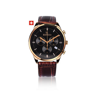 Watch - Royalé Brown Black