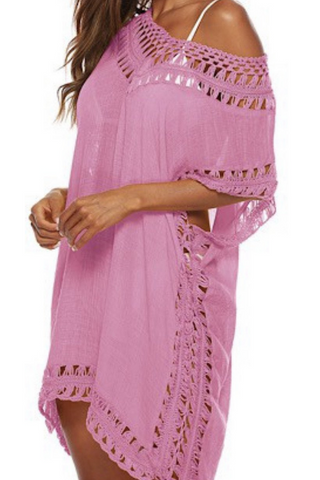 Beach Cover Up (Pink)