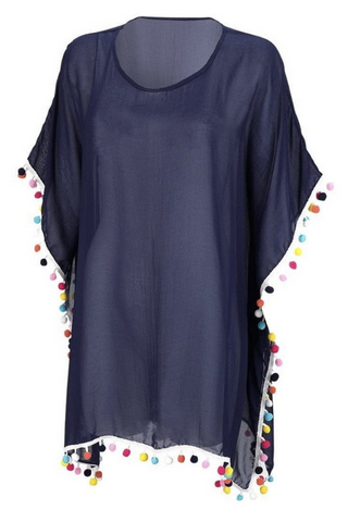 Swim Cover Up (Navy)
