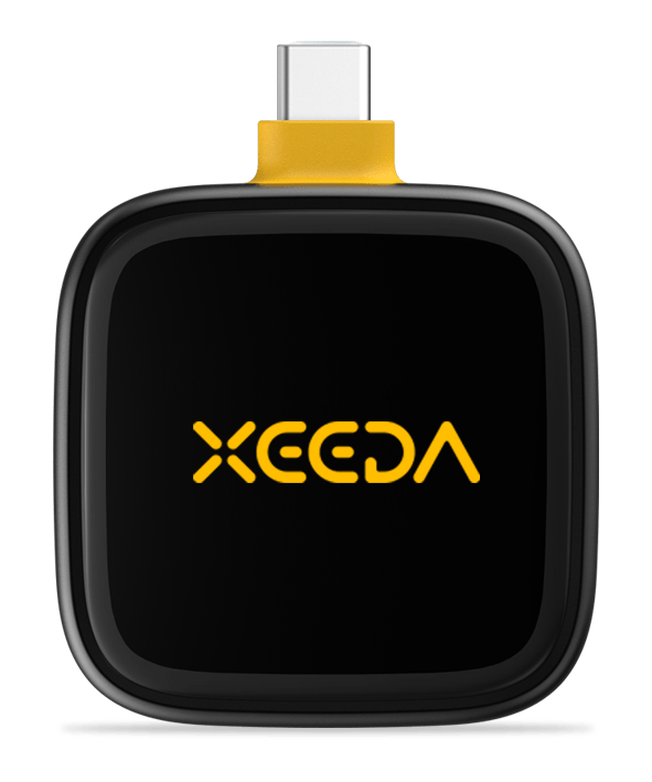 XEEDA Hardware Wallet for Android Devices (USB-C)
