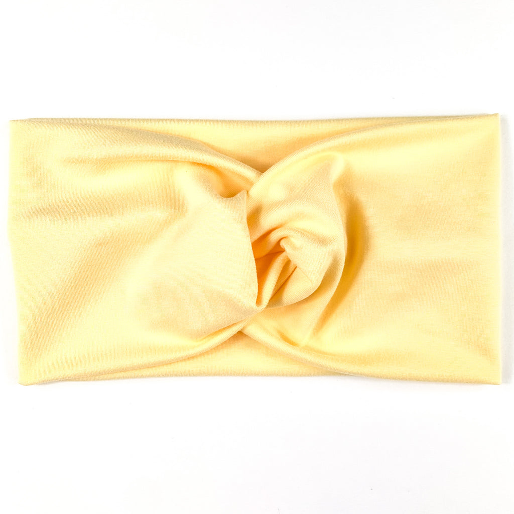 Sunshine Yellow Headband