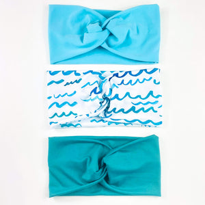 Ride The Waves Headband Set