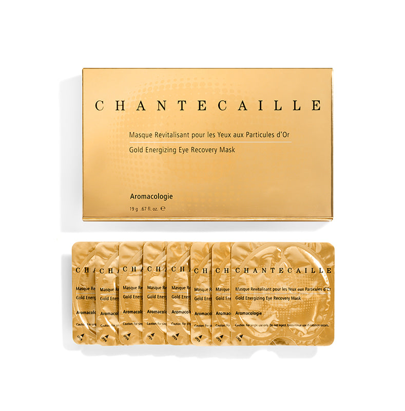 A natural seaweed based mask infused with a luxurious 24 Karat Gold Serum rich in powerful components that re-plump and moisturize, leaving the delicate eye area looking smoothed, revitalized and radiant. Powerful botanicals work to eliminate the looks of puffiness and fine lines and lighten the appearance of dark circles.