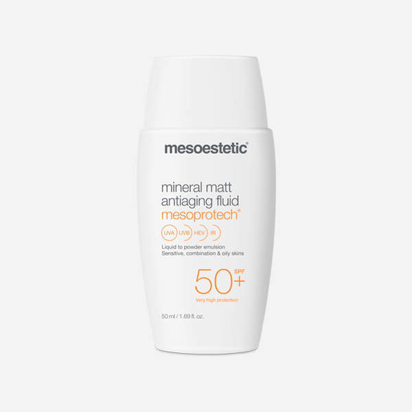 Mesoprotect Mineral Matt Antiaging Fluid 50 + SPF - Skin Collective
