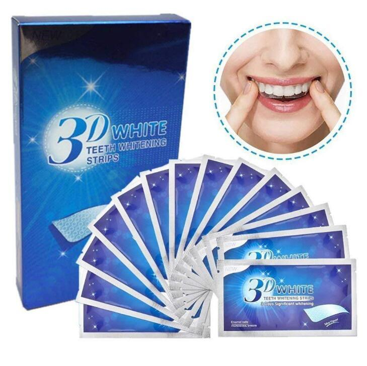 3D Teeth Whitening Strips