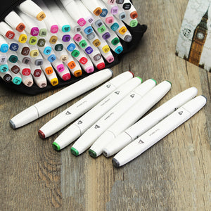 Anime Art Marker Double Headed Sketch Alcohol Marker Pen Set