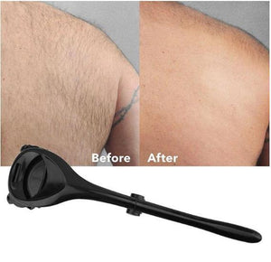 New Two-Headed Blade Back Hair Shaver