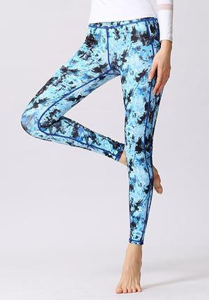 Floral Printed High Waist Leggings