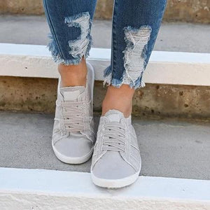 Women Vintage Slip-on Sneaker Shoes