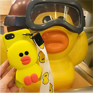 iPhone  Cartoon Storage Phone Case