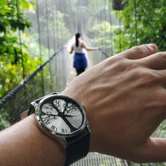 Your perception is your reality - Timeless Collection Time-Peace Watch in Costa Rica showing that perception creates reality and the time is now