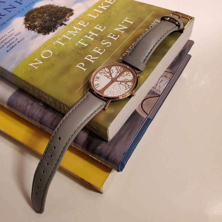 Time and Mindfulness - Timeless Collection Time-Peace Watch with No Time like the Present Book