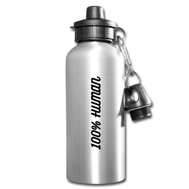 100% Human Water Bottle - Time-Peace