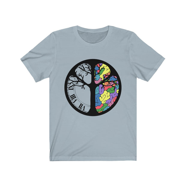 Unisex Jersey Short Sleeve Tee | TP Colorbrain - Time-Peace