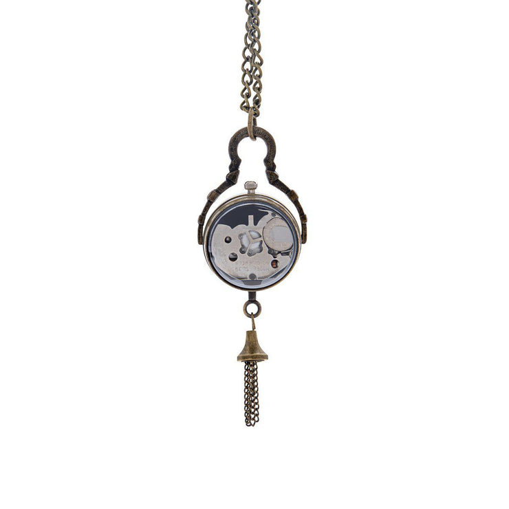 Time-Peace Pendant Orb Necklace - Time-Peace