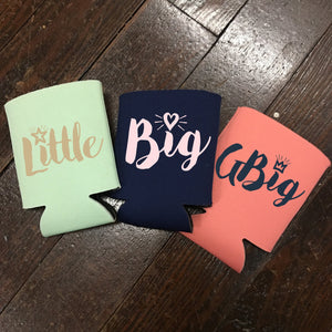 Big/Little/GBig/GGBig Koozie - Campus Connection - Campus Connection - 1