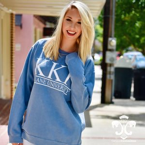 Comfort Colors Crewneck Sweatshirt with Classic Bar Design