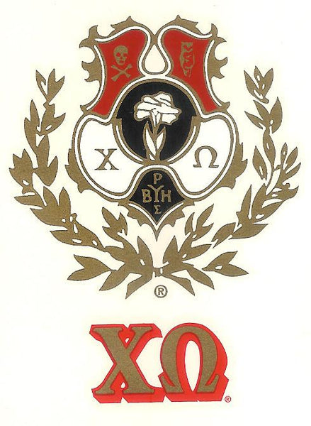 Sorority Crest Decal Sticker - Angelus Pacific - Campus Connection - 5