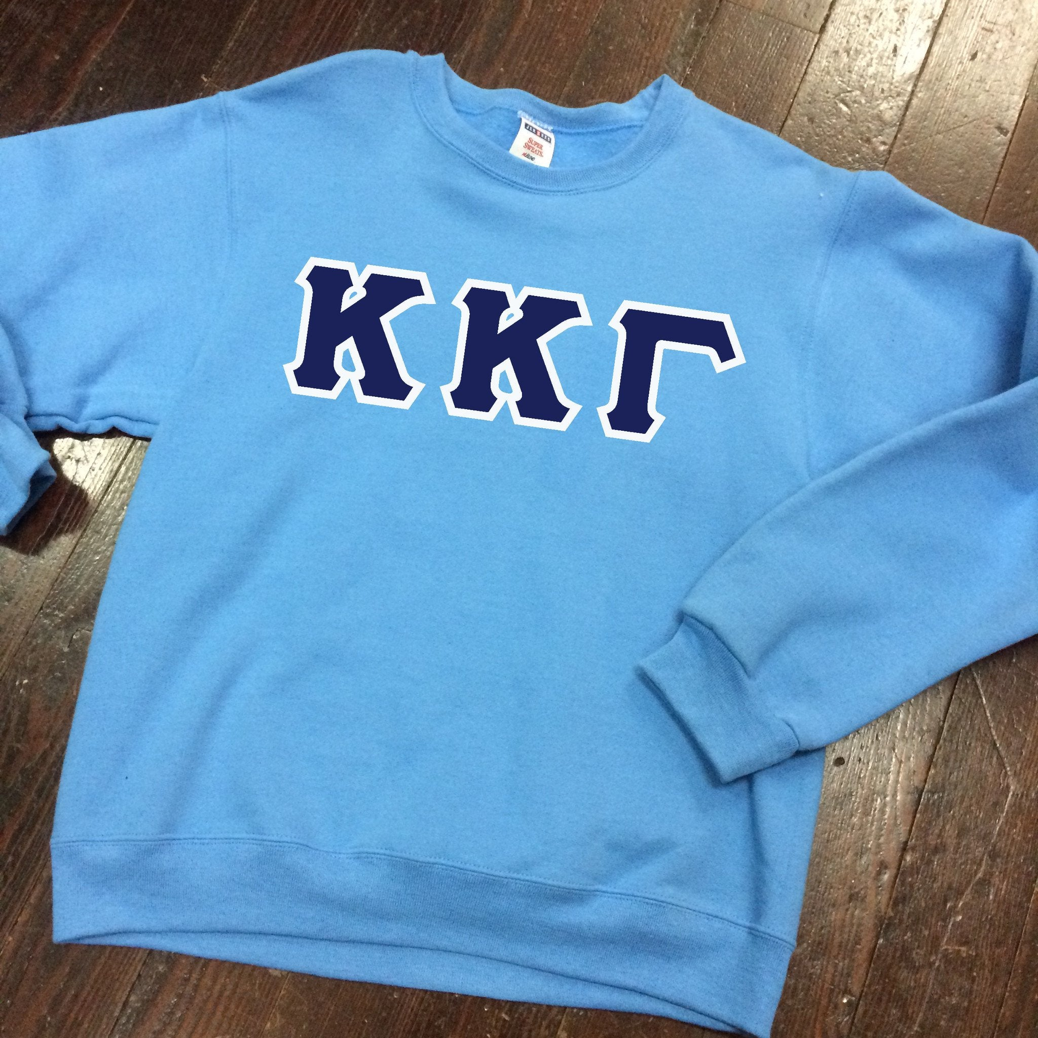 Sewn-Letter Crewneck Sweatshirt - Campus Connection - Campus Connection - 1