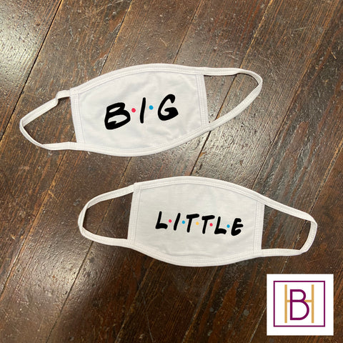 Big/Little Face Mask - Friends