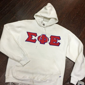 Sewn-Letter Hooded Sweatshirt - Campus Connection - Campus Connection - 1