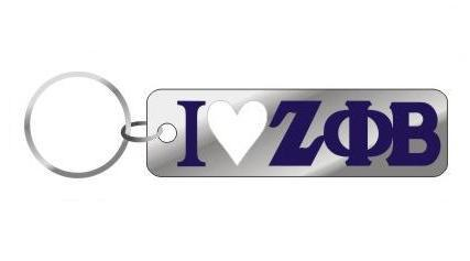 I Heart Mirror Keychain - Craftique - Campus Connection - 5