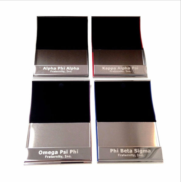 Engraved Business Card Holder - National Sportswear - Campus Connection - 4