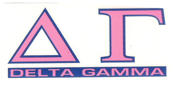 Sorority Letter Decal Sticker - Angelus Pacific - Campus Connection - 7