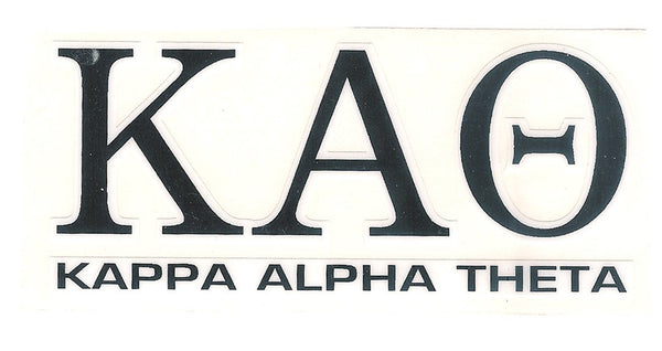 Sorority Letter Decal Sticker - Angelus Pacific - Campus Connection - 9