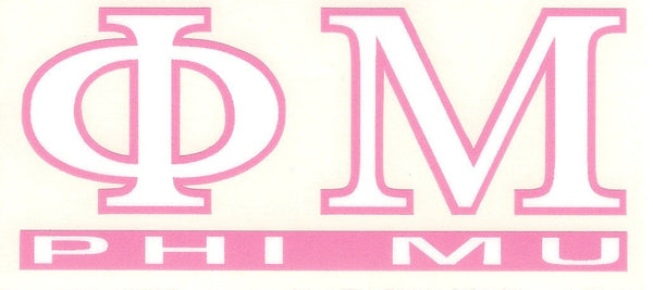 Sorority Letter Decal Sticker - Angelus Pacific - Campus Connection - 11