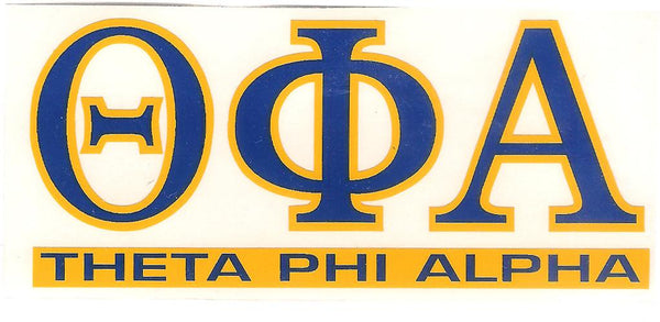 Sorority Letter Decal Sticker - Angelus Pacific - Campus Connection - 14
