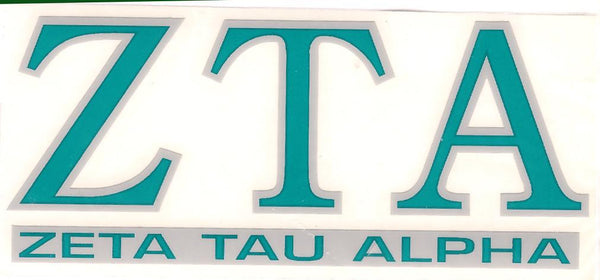 Sorority Letter Decal Sticker - Angelus Pacific - Campus Connection - 16