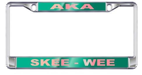 License Plate Frame with Call - Craftique - Campus Connection - 2