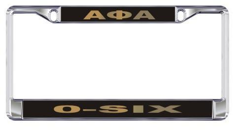 License Plate Frame with Call - Craftique - Campus Connection - 5
