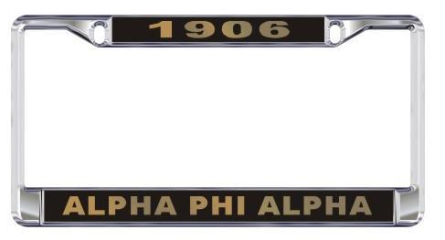 License Plate Frame with Year - Craftique - Campus Connection - 5
